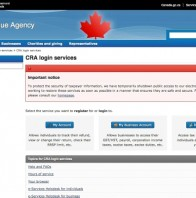 CRA shuts down electronic tax filing 'to protect security of taxpayer information'